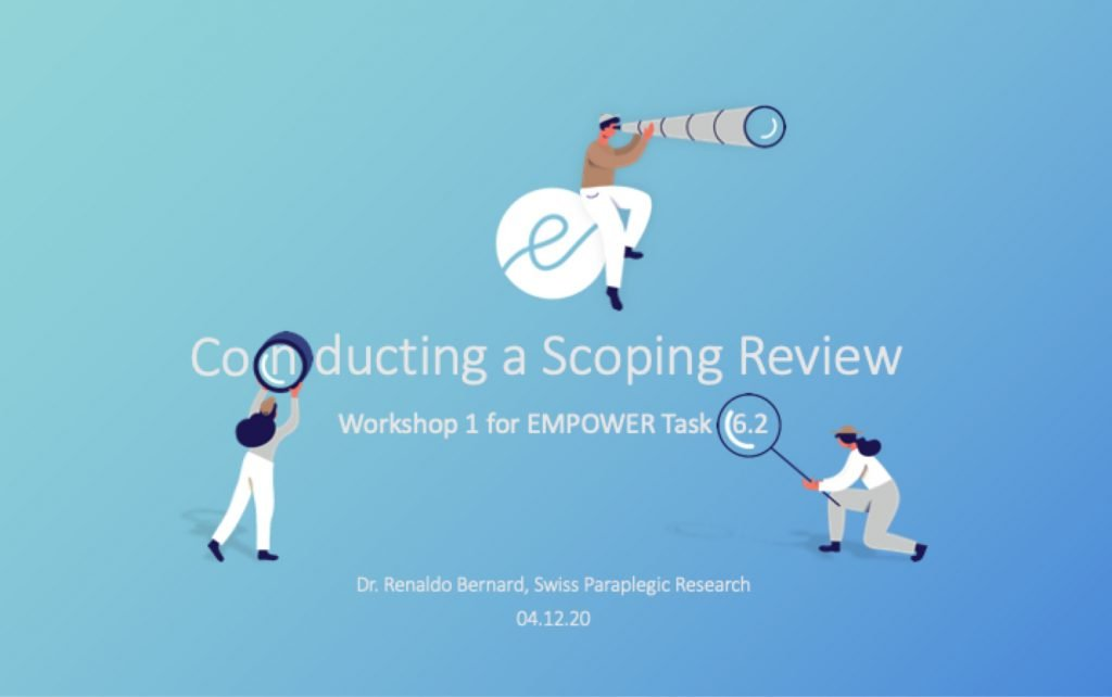Conducting a Scoping Review